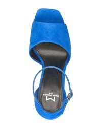 Marc Fisher - Blue Harlin Ankle Strap Sandal (women) - Lyst