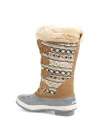 Khombu - Gray Andie Waterproof Boots - Lyst