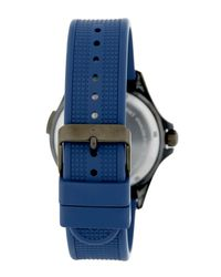 Victorinox - Blue Men's Night Vision Rubber Watch for Men - Lyst