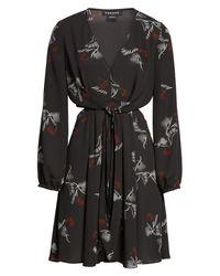 Trouvé - Black Cutout A-line Dress - Lyst