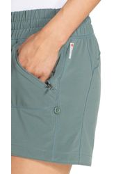 Zella - Green Switchback Shorts - Lyst
