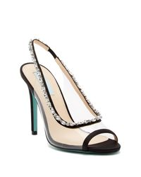 Betsey Johnson - Multicolor Halie Slingback Sandal - Lyst
