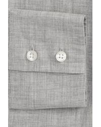 Michael Bastian - Gray Trim Fit Dress Shirt for Men - Lyst