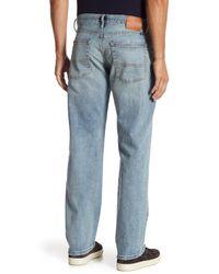 Lucky Brand - Blue Original Straight Leg Jean for Men - Lyst