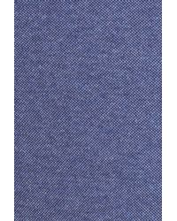 Bugatchi - Blue Regular Fit Piqu? Blazer for Men - Lyst