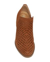 Naturalizer - Brown Zenith Perforated Bootie - Multiple Widths Available - Lyst
