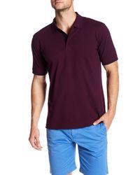 Robert Graham - Purple Clock Tower Regular Fit Polo Shirt for Men - Lyst
