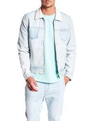 KUWALLA - Blue Zip Denim Jacket for Men - Lyst