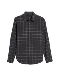 Theory - Multicolor Front Button Plaid Print Shirt for Men - Lyst