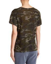 Stateside - Multicolor Camouflage Tee - Lyst