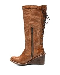Bed Stu - Brown Empress Leather Boot - Lyst