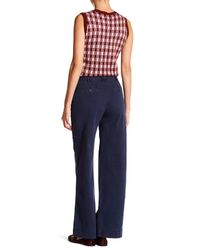 J.Crew - Blue Tailored Wide Leg Chino Pants - Lyst