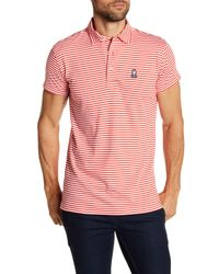 Psycho Bunny - Multicolor Garment Wash Stripe Polo for Men - Lyst