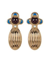 House of Harlow 1960 - Metallic Dinka Garnet Earrings - Lyst