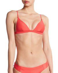 Vitamin A - Multicolor Stella Triangle Bikini Top - Lyst
