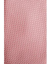 Calibrate - Pink Seattle Textured Silk Tie for Men - Lyst
