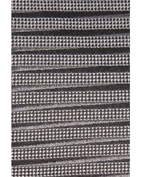 Calibrate - Gray Brewer Stripe Silk Tie for Men - Lyst