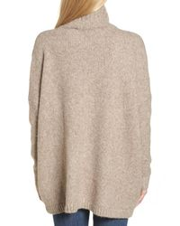 French Connection - Natural Ora Mock Neck Sweater - Lyst