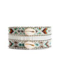 Hipanema - Metallic Mona Twin Beaded Bracelet - Lyst