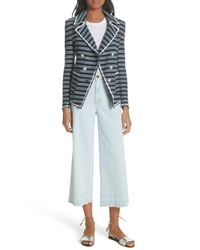 593e11fee Women's Blue Carroll Stripe Jacket