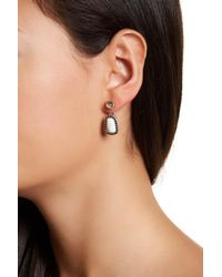 Lucky Brand - Natural Pebble Ear Jackets - Lyst
