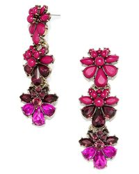 BaubleBar - Red 'sirenuse' Drop Earrings - Lyst