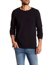Threads For Thought - Black Charleston Jersey Slub Long Sleeve Tee for Men - Lyst
