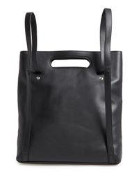 Steven Alan - Black Steve Alan Codi Convertible Leather Backpack - Lyst