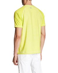 Robert Graham - Yellow Ionosphere Short Sleeve Active Fit Tee for Men - Lyst