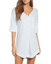Honeydew Intimates - Blue Sleep Shirt - Lyst