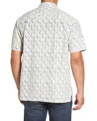 Tommy Bahama - Multicolor Alcazar Tiles Standard Fit Silk Camp Shirt for Men - Lyst