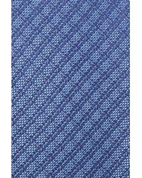 Calibrate - Blue Geometric Silk Tie for Men - Lyst