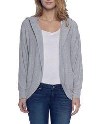BB Dakota - Gray Snap Heather Hoodie Sweatshirt - Lyst
