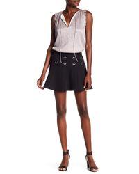 Parker - Black Milo's Crisscross Grommet Skirt - Lyst