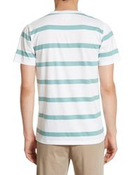 Norse Projects - White Neils Industrial Stripe T-shirt for Men - Lyst