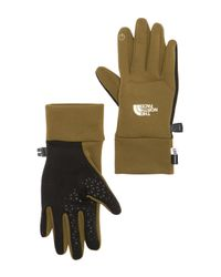 The North Face - Green Etip Gloves - Lyst