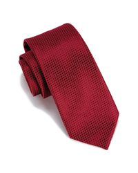 Perry Ellis - Red Durand Mini Circle Tie for Men - Lyst