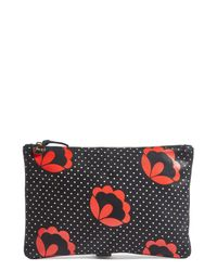 Clare V. - Multicolor Poppy Print Clutch - Lyst