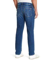 Joe's Jeans - Blue Brixton Distressed Slim Fit Jean for Men - Lyst