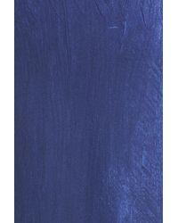 Komarov | Blue Ombre Lace & Chiffon Midi Dress | Lyst