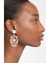 Kate Spade - Multicolor Garden Statement Earrings - Lyst