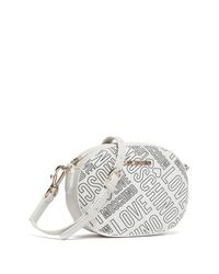Love Moschino - White Embossed Clutch - Lyst