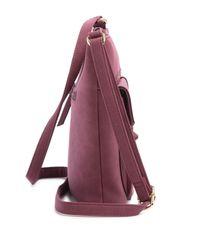 Nicole Miller - Purple Janelle Crossbody Bag - Lyst
