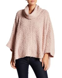 Romeo and Juliet Couture Pink Cowl Neck Sweater