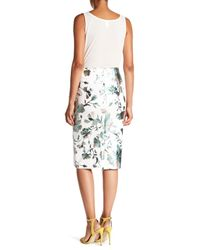 Eci - Multicolor Floral Pull-on Skirt - Lyst