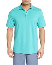 Peter Millar - Blue Crown Polo for Men - Lyst