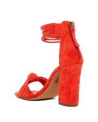 Joe's Jeans - Red Fatima Sandal - Lyst