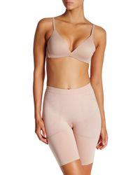 Spanx | Pink Mid Thigh Short | Lyst