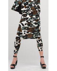 Norma Kamali | Multicolor Straight Skirt | Lyst