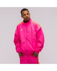 a22cd50c Gosha Rubchinskiy X Adidas Track Jacket In Pink in Pink for Men - Lyst
